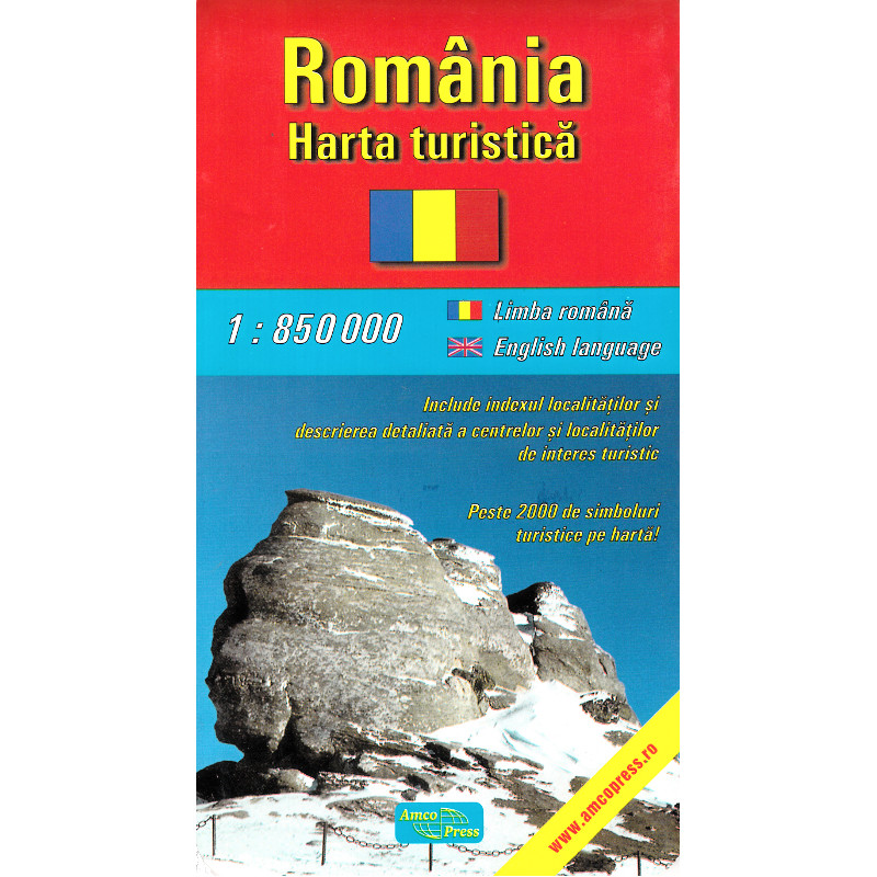 Amco Press Harta Romania Turistica