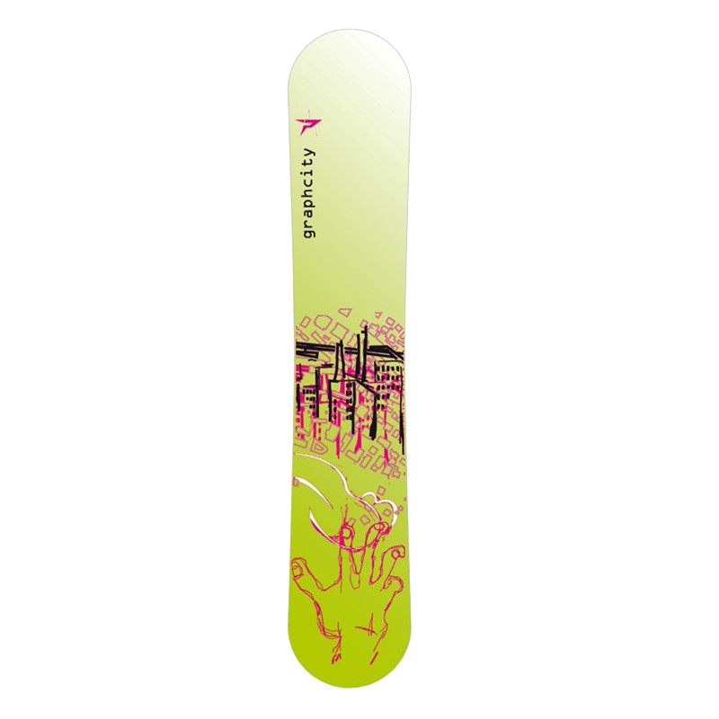Placa Snowboard Pale Graphcity Green 163cm